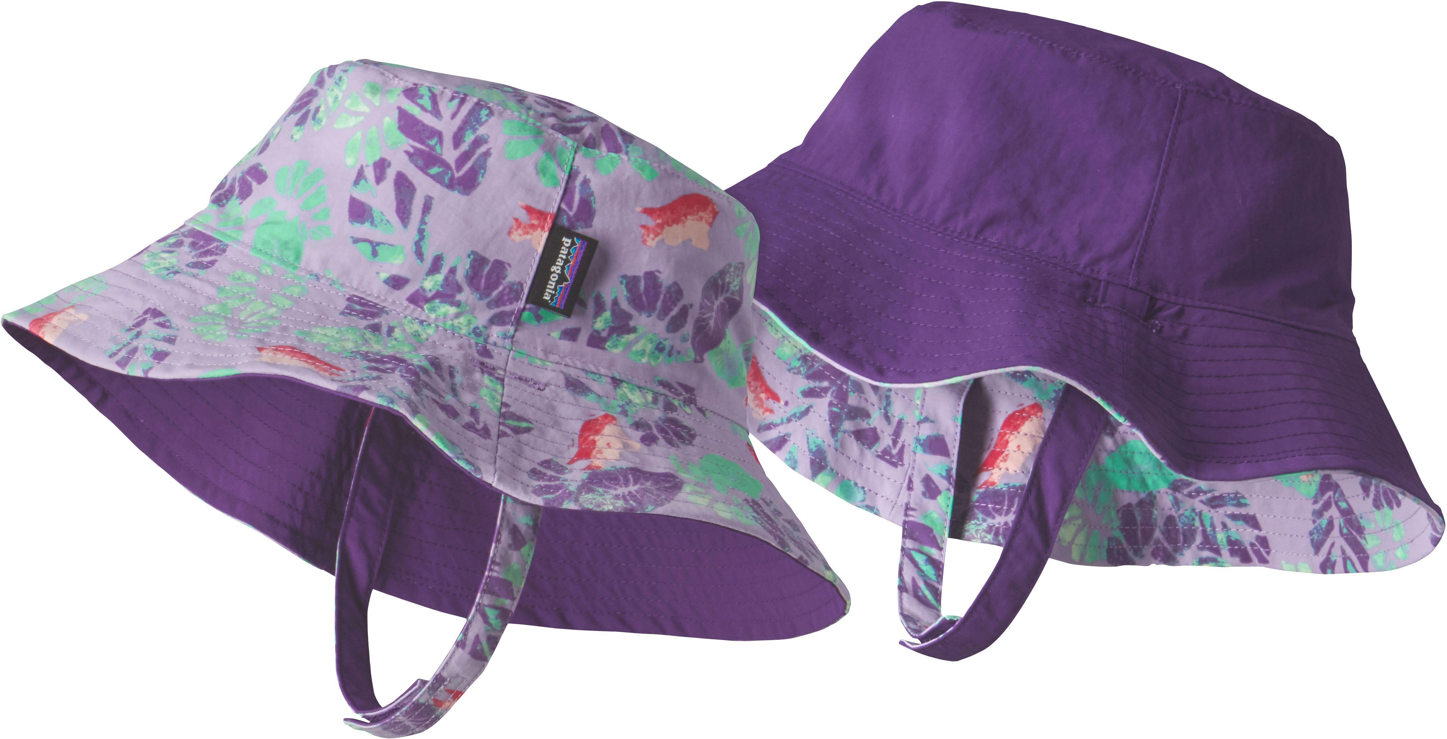 54ab2733c Patagonia Sun Bucket Hat Barn garibaldi tropics: petoskey purple